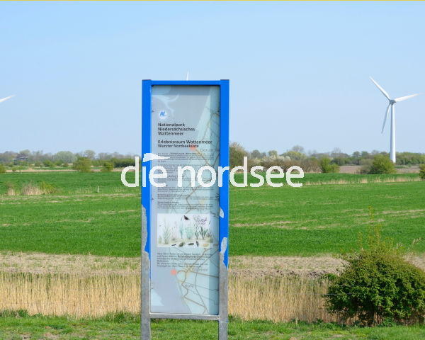 Infoschild Nationalpark Wattenmeer